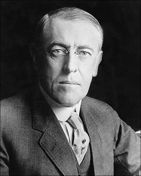 U.S. President Woodrow Wilson Portrait 1916 Photo Print for Sale