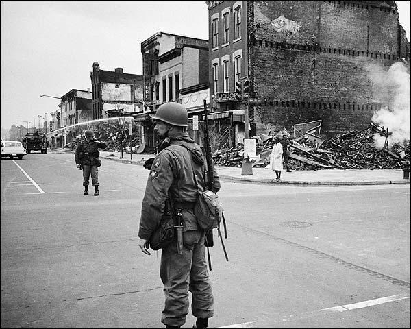 Washington D.C. Riots After MLK Death, 1968 Photo Print for Sale