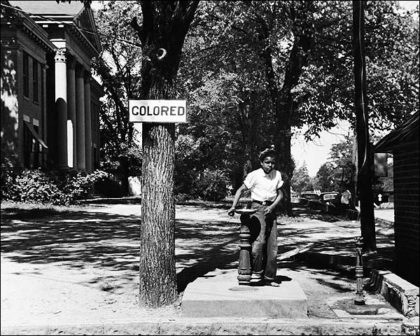 Civil Rights Segregated Water Fountain 1938 Photo Print for Sale