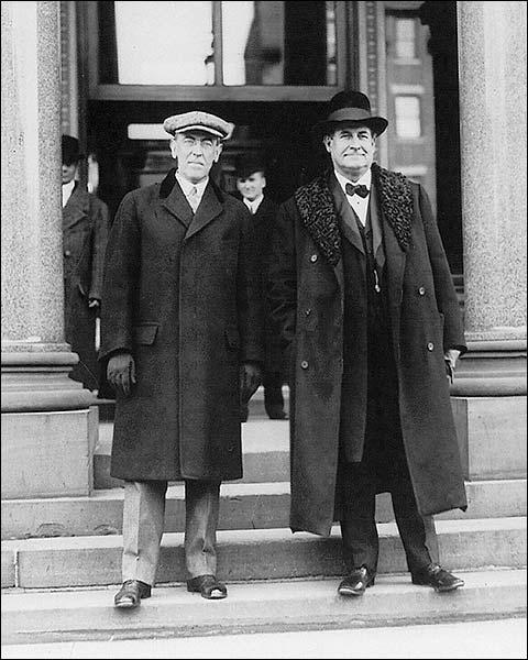 Woodrow Wilson & William Jennings Bryan Photo Print for Sale