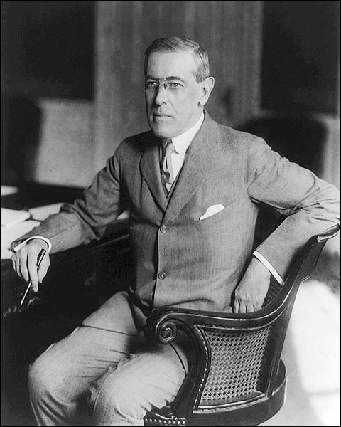 President Woodrow Wilson Portrait Photo Print for Sale