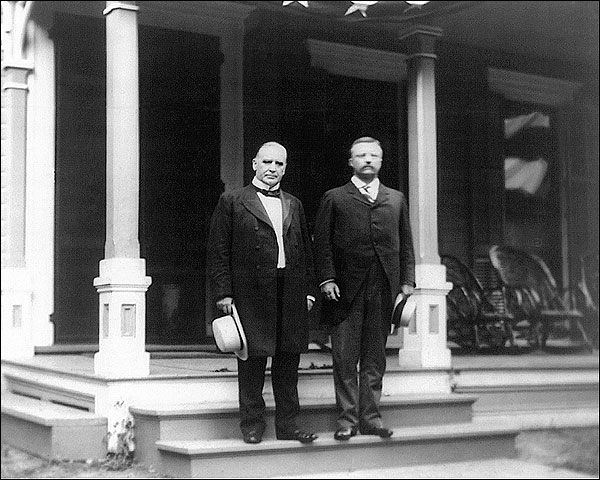 Pres. William McKinley & Teddy Roosevelt Photo Print for Sale