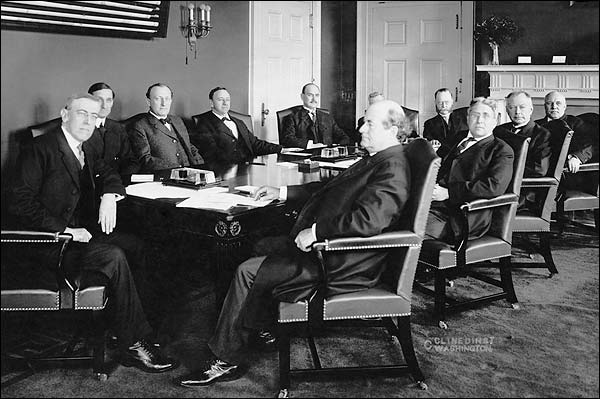 President Woodrow Wilson & Cabinet Photo Print for Sale
