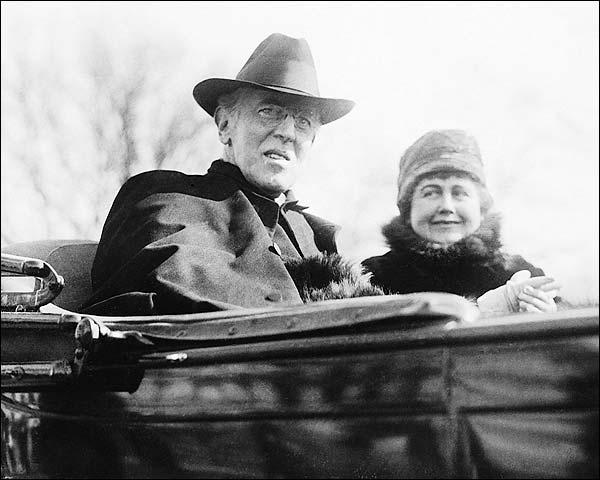 President Woodrow Wilson Portrait Photo Print for Sale