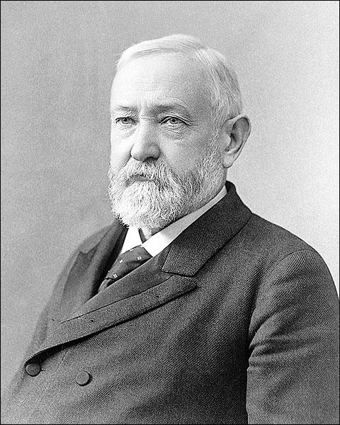 President Benjamin Harrison Portrait Photo Print for Sale