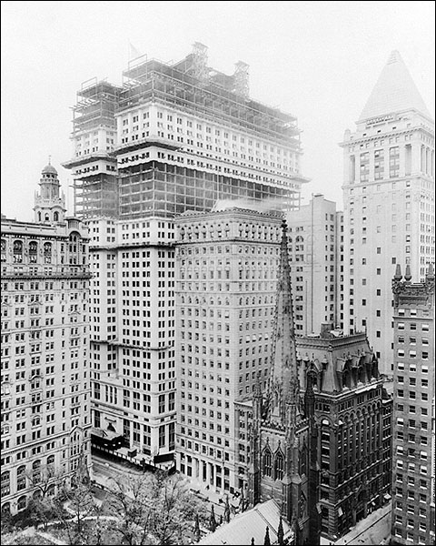 Equitable Building & Trinity Church NYC Photo Print for Sale