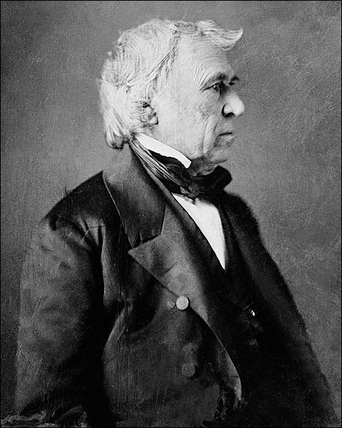 President Zachary Taylor from Daguerreotype Photo Print for Sale