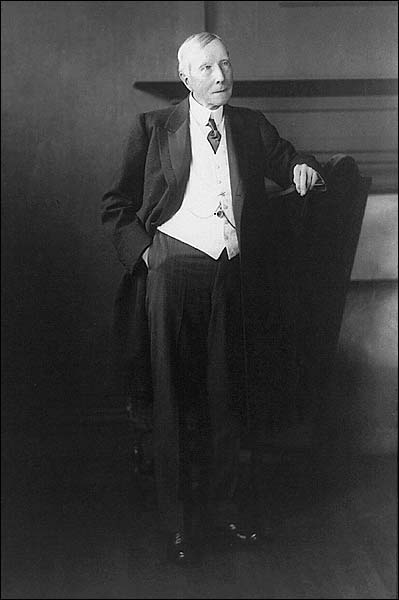 John D. Rockefeller Standing Portrait Photo Print for Sale