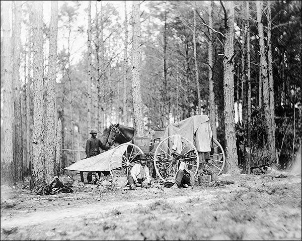 Mathew Brady Civil War Photo Crew Photo Print for Sale
