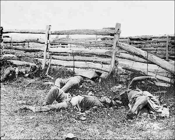 Civil War Dead at Battle of Antietam Photo Print for Sale