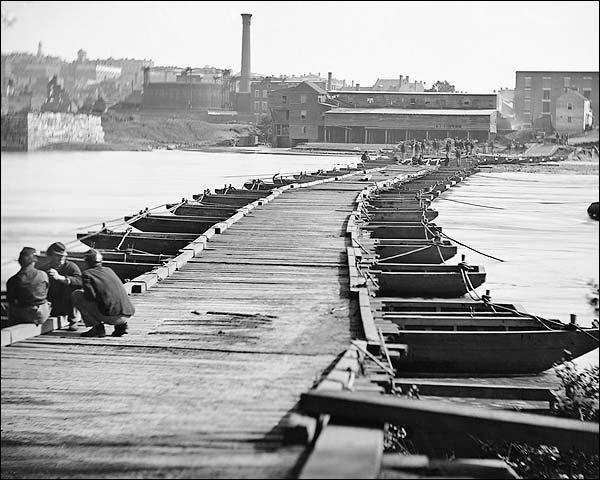 Civil War Pontoon Bridge Petersburg VA Photo Print for Sale