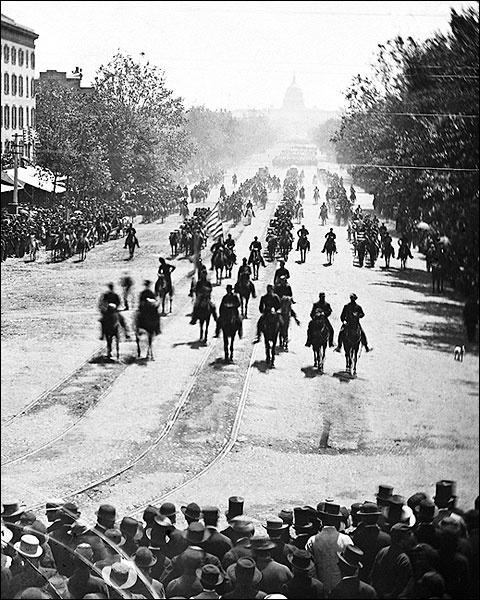 Civil War Army Review in Washington D.C. Photo Print for Sale
