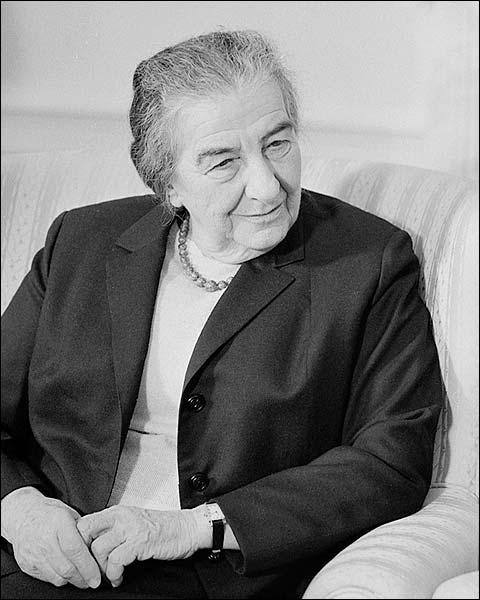 Golda Meir Prime Minister Israel Portrait Photo Print for Sale