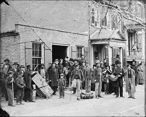 Civil War Maimed Soldiers Washington D.C. Photo Print for Sale