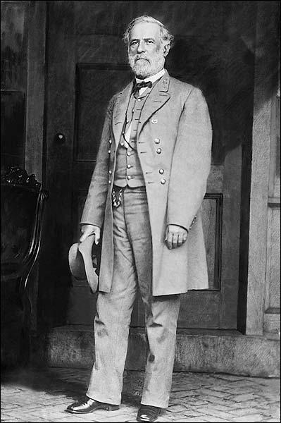 Confederate General Robert E. Lee Portrait Photo Print for Sale