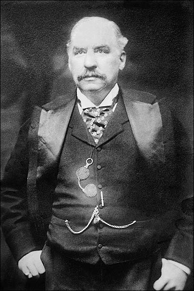 J. P. Morgan American Financier Portrait Photo Print for Sale