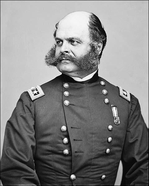 Civil War Major General Ambrose E. Burnside Photo Print for Sale