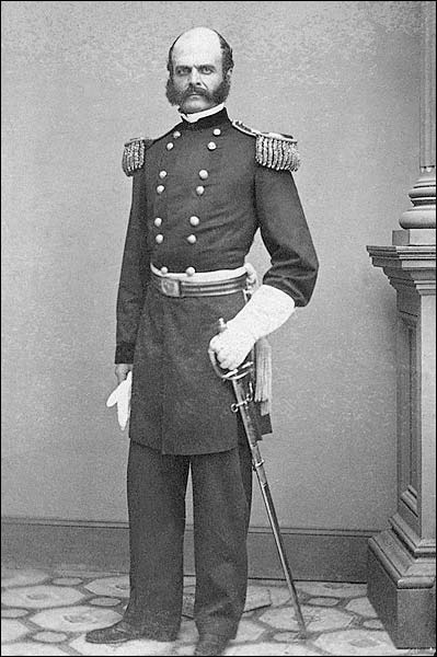 Portrait Major General Ambrose E. Burnside Photo Print for Sale
