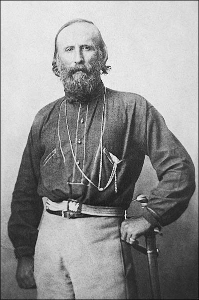 Giuseppe Garibaldi Italian Patriot Portrait Photo Print for Sale