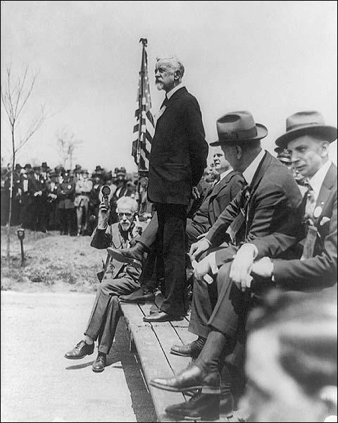 Senator Henry Cabot Lodge Speech Photo Print for Sale