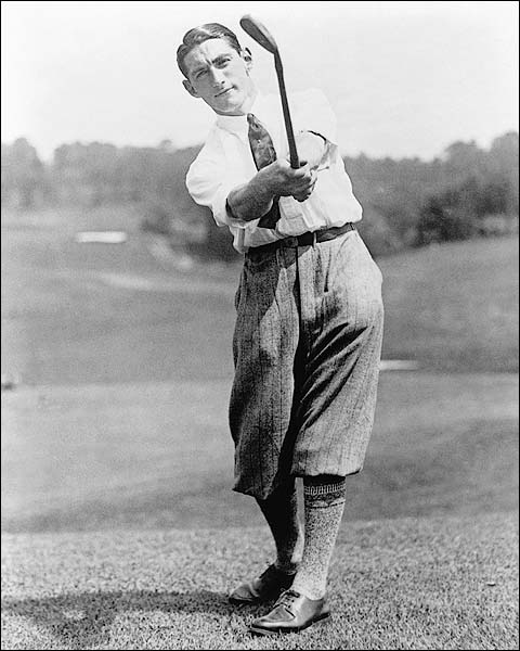 US Golf Winner Tom Armour 1927 Portrait Photo Print for Sale