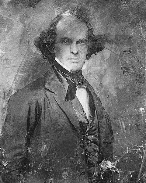 Nathaniel Hawthorne Daguerreotype Portrait Photo Print for Sale