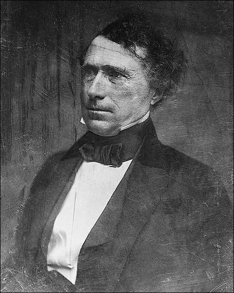 US President Franklin Pierce Portrait Photo Print for Sale