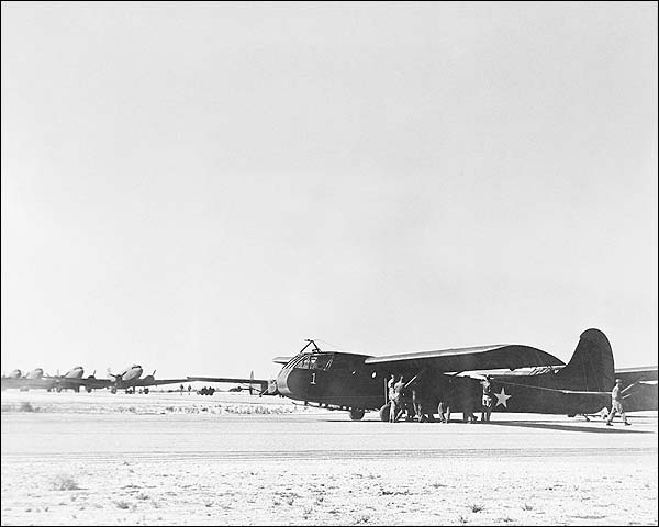 WWII Waco CG-4A Glider Airborne Transport Photo Print for Sale