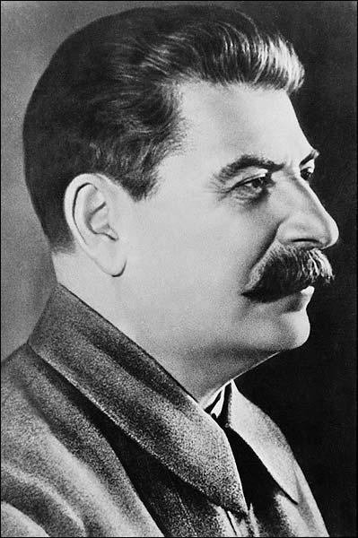 Soviet Union Joseph Stalin Portrait Photo Print for Sale