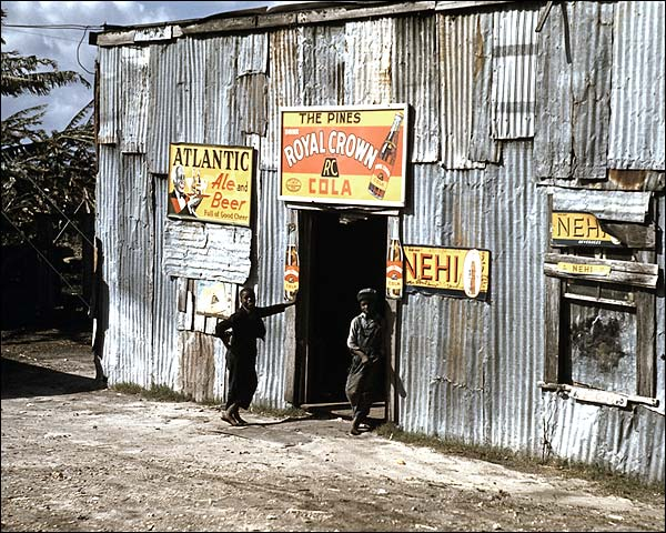 Black Migrant Workers at Juke Joint 1941 Photo Print for Sale