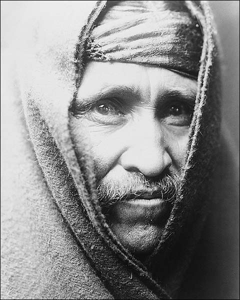 Navajo Indian Edward S. Curtis Portrait 1905 Photo Print for Sale