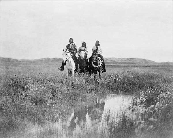In the Land of the Sioux Edward S. Curtis Photo Print for Sale