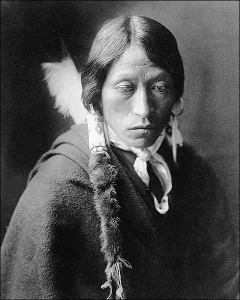 Jicarilla Indian Edward S. Curtis Portrait Photo Print for Sale