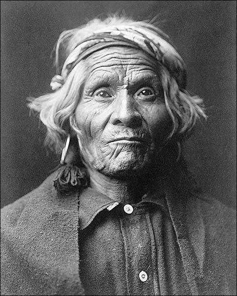 Wyemah Indian Edward S. Curtis Portrait Photo Print for Sale