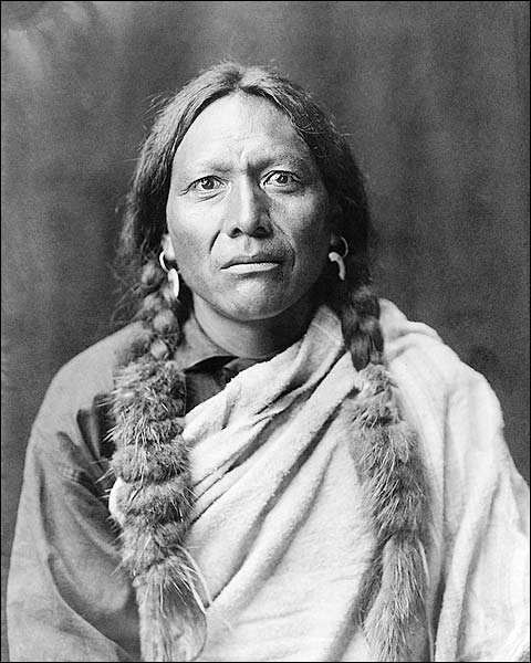 Tull Chee Hah Edward S. Curtis Portrait Photo Print for Sale