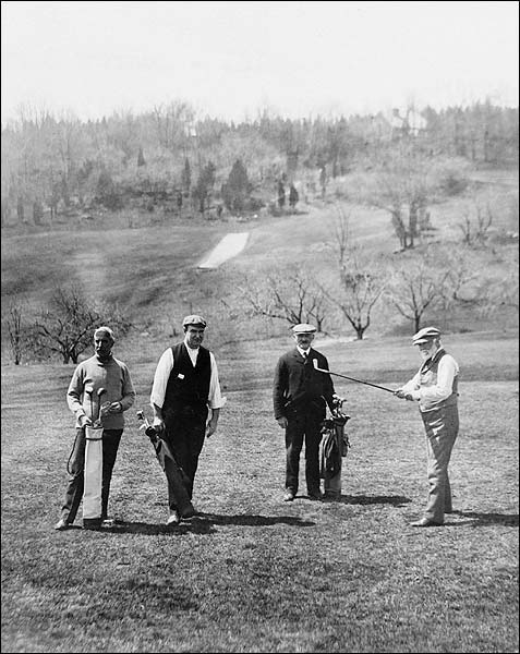 Andrew Carnegie Golfing in Westchester NY Photo Print for Sale