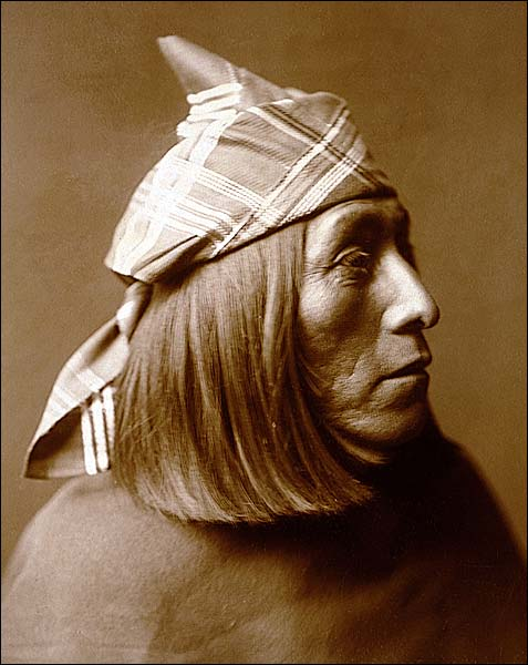 Native American Edward S. Curtis Portrait Photo Print for Sale