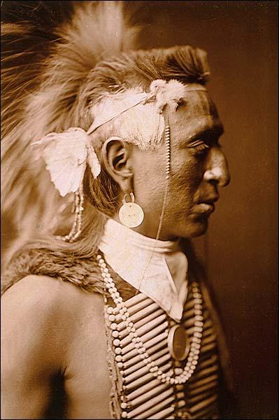 Navajo Native American Edward S. Curtis Photo Print for Sale