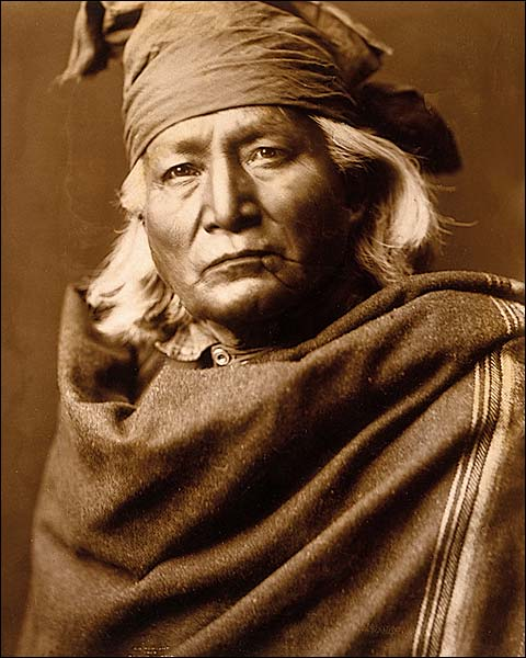 Native American Chino by Edward S. Curtis Photo Print for Sale