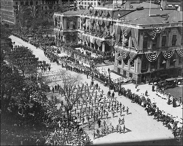 New York City Hall Olympic Athletes Parade Photo Print for Sale