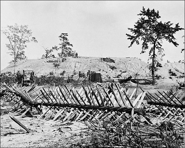 Chevaux-de-frise, Atlanta Civil War Photo Print for Sale