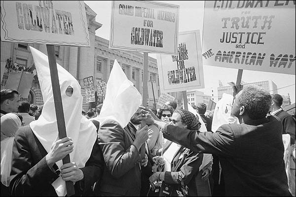 KKK & African Americans Goldwater Campaign Photo Print for Sale