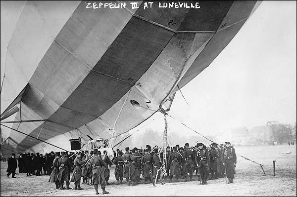 Zeppelin 3 Airship / Blimp at Lunéville Photo Print for Sale