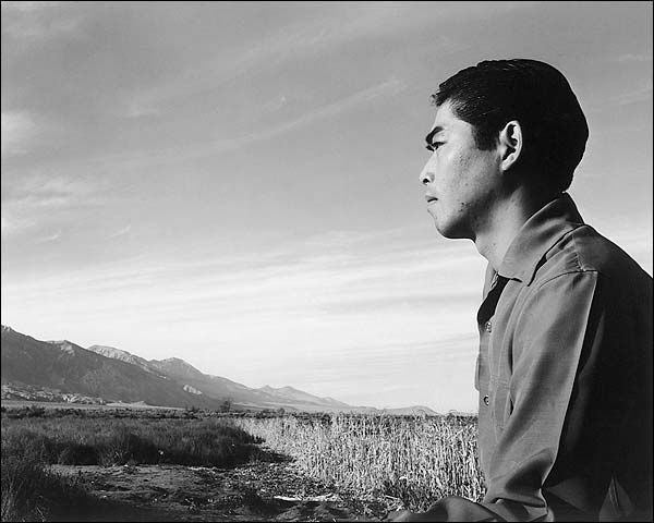 Tom Kobayashi WWII Manzanar Ansel Adams Photo Print for Sale