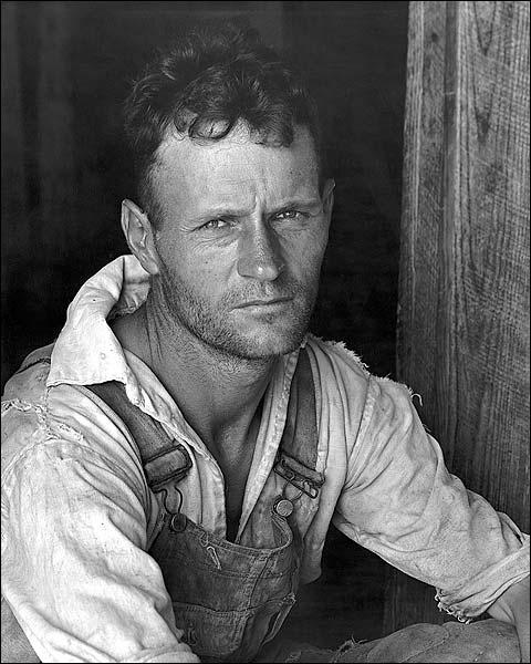 Walker Evans Floyd Burroughs Portrait 1936 Photo Print for Sale