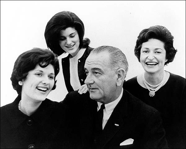 President Lyndon B. Johnson Family Portrait Photo Print for Sale