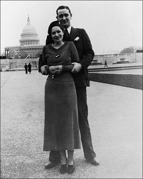 Lyndon & Lady Bird Johnson Washington D.C. Photo Print for Sale