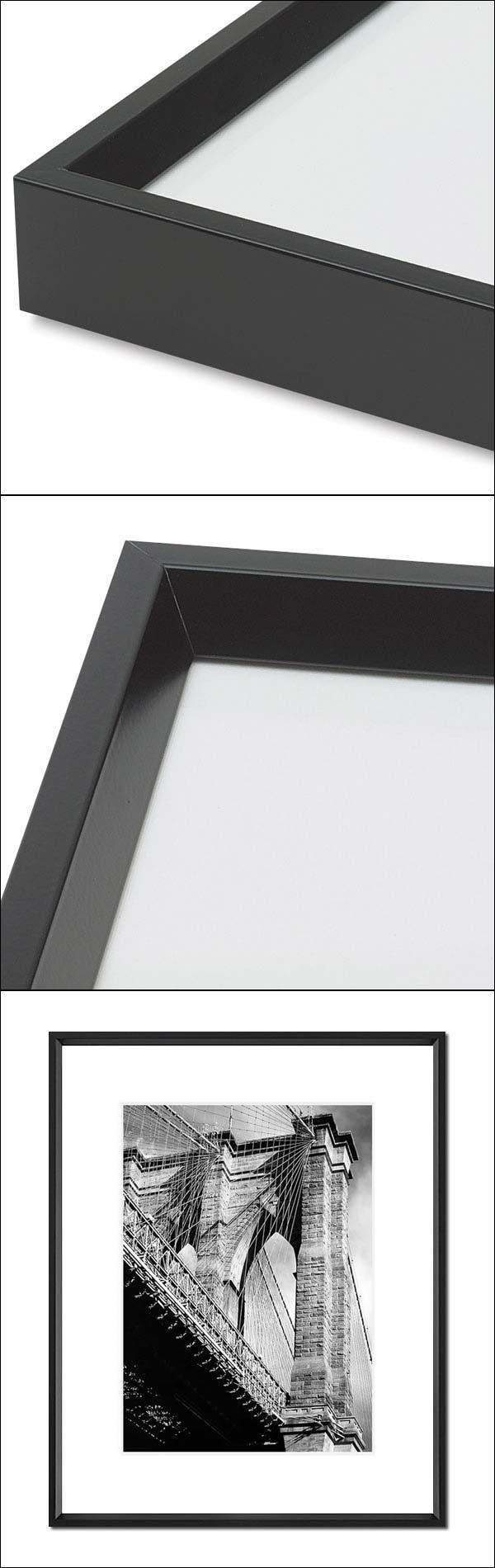 8 x 12 Frame - 8x12 Black Picture Frames