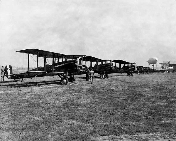 De Havilland DH-4 & Others at Air Races Photo Print for Sale