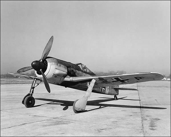WWII Focke-Wulf Fw 190 German Aircraft Photo Print for Sale
